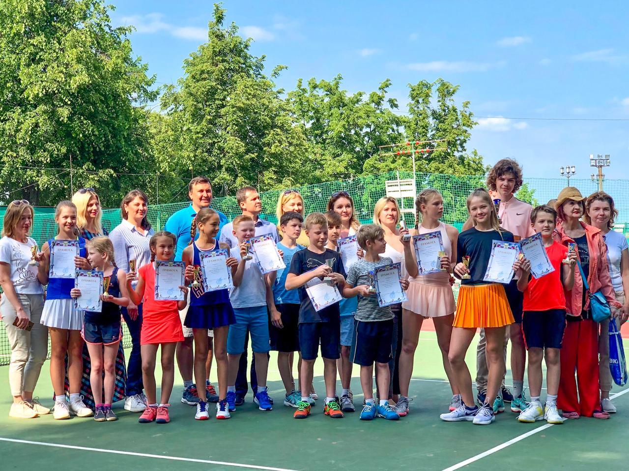 Закрытие Первенства города Ярославля по теннису на кубок мэра города Ярославля